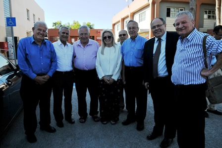 Adelson's visit to Ariel's University